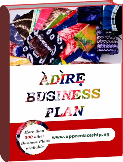 ADIRE, KAMPALA BUSINESS PLAN IN NIGERIA