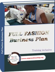 Full Fashion Business Plan