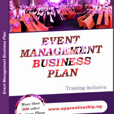 EVENT MANAGEMENT BUSINESS PLAN IN NIGERIA