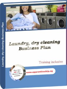LAUNDRY, DRY CLEANING BUSINESS PLAN